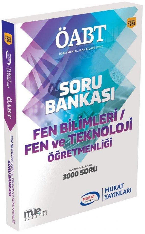 Murat Yayınları KPSS ÖABT Fen Bilimleri / Fen ve Teknoloji Öğretmenliği Açıklamalı Soru Bankası