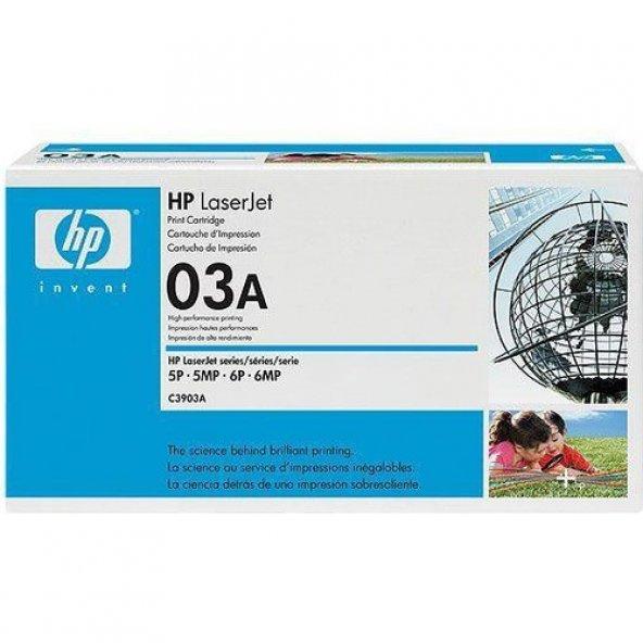 HP 03A 4000 Sayfa Kapasiteli Siyah Toner C3903A