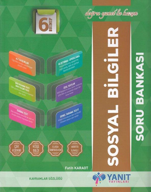 YANIT 6.SINIF SOSYAL BİLGİLER SORU BANKASI (YENİ)