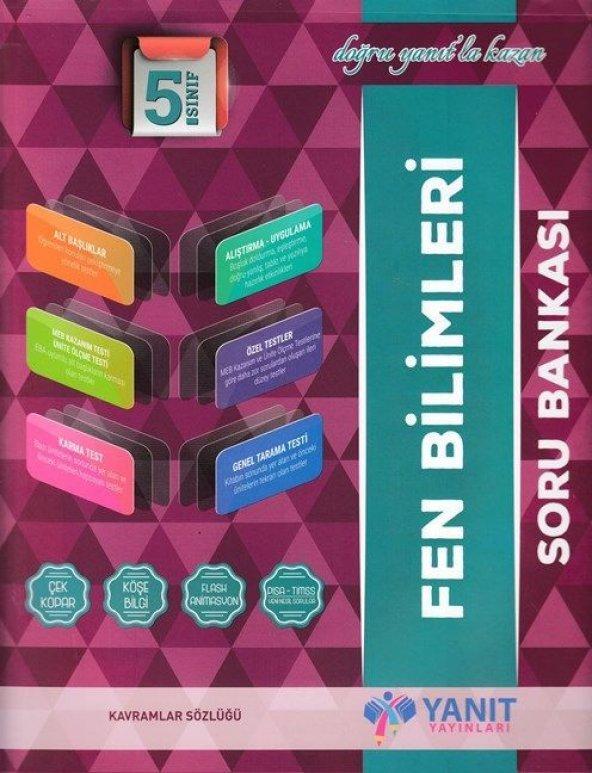 YANIT 5.SINIF FEN BİLİMLERİ SORU BANKASI (YENİ)