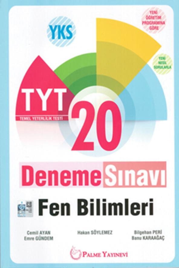 PALME YKS TYT FEN BİLİMLERİ 20 DENEME (YENİ)