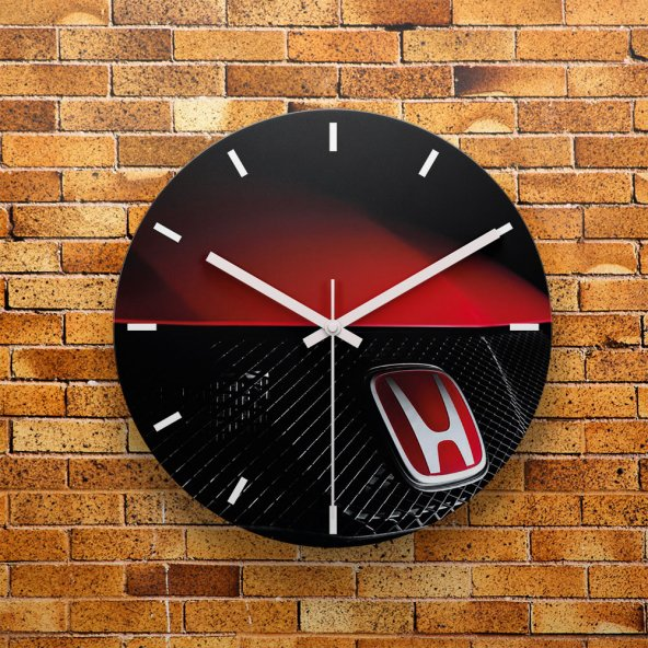 FMC1167 Tasarımlı MDF AHŞAP Duvar Saati 39cm