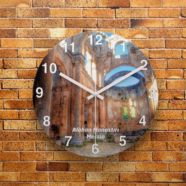 FMC1083 Tasarımlı MDF AHŞAP Duvar Saati 39cm
