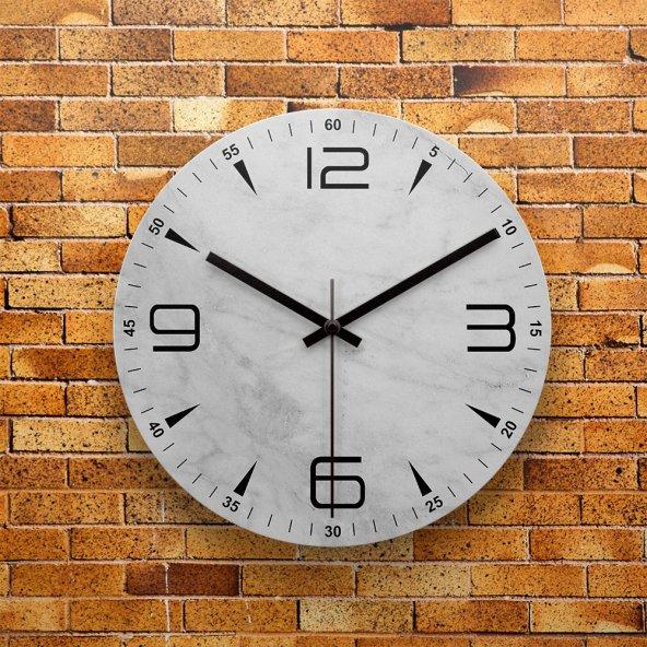 FMC1080 Tasarımlı MDF AHŞAP Duvar Saati 39cm