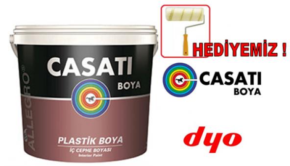Casati Allegro Plastik Duvar Boyası 12 LT/20 KG