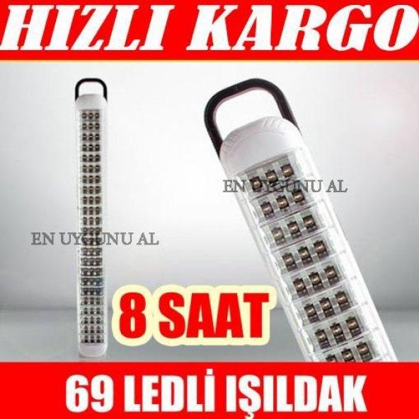 69 LEDLİ IŞILDAK ŞARJ EDİLEBİLİR IŞILDAK 5 ADET FİYATIDIR