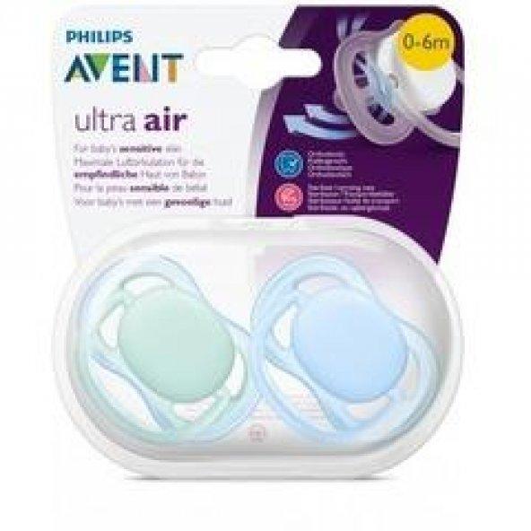 AVENT Emzik SCF244/20 Ultra Air Erkek Renkli 0-6AY 2li