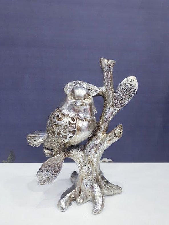 Salon Aksesuarı Polyester Dekorasyon Biblo Kuş