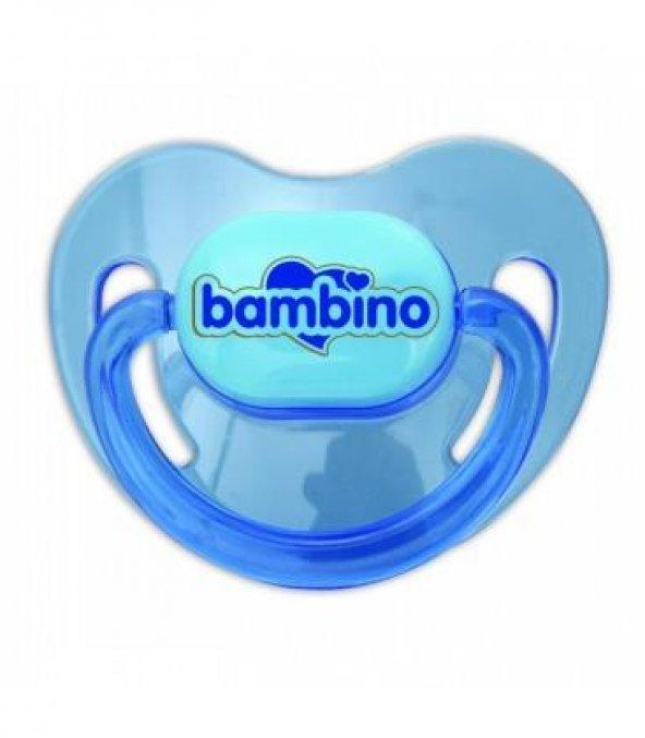 BAMBINO Silikon Damaklı Emzik No:1 T159