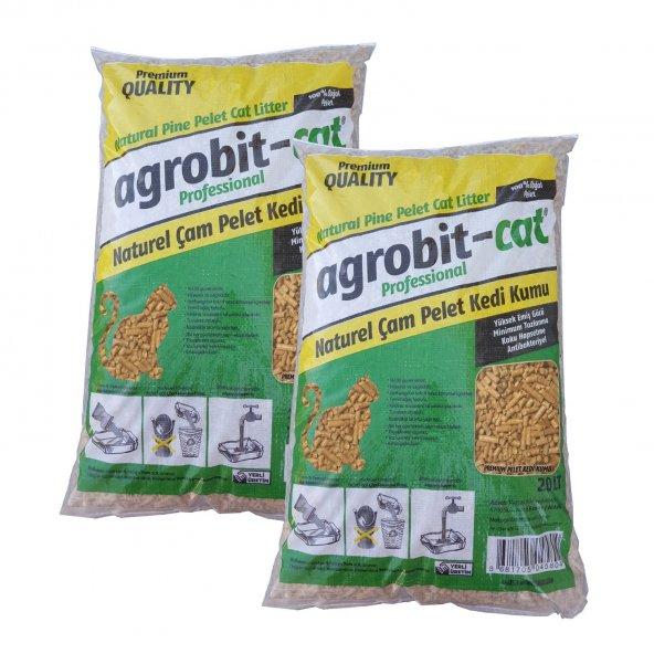 Agrobit Cat Kedi Kumu Çam Pelet i Çv 2x20 lt 6601-08 (#414374541) Agrobit Cat Kedi Kumu Çam Pelet i