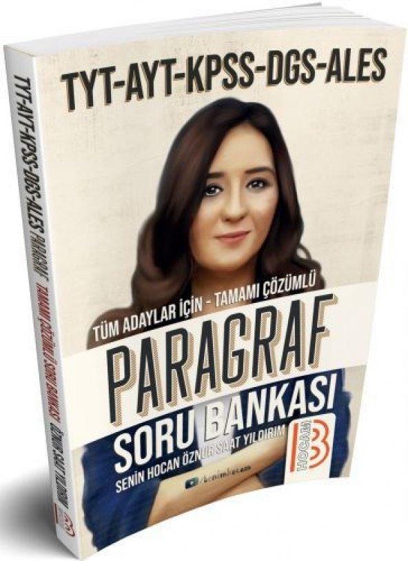 Benim Hocam Yayınları2019 Tüm Sınavlar İçin Paragraf Soru Bankası