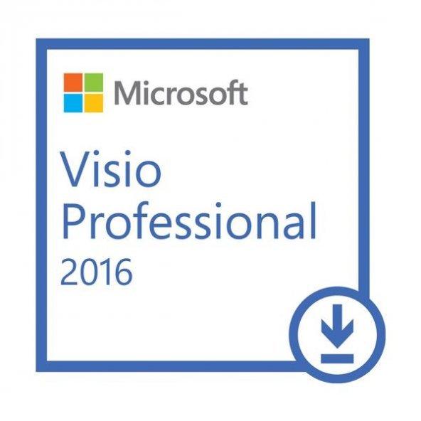 Microsoft Windows Visio 2016 Pro Lisans 32&64
