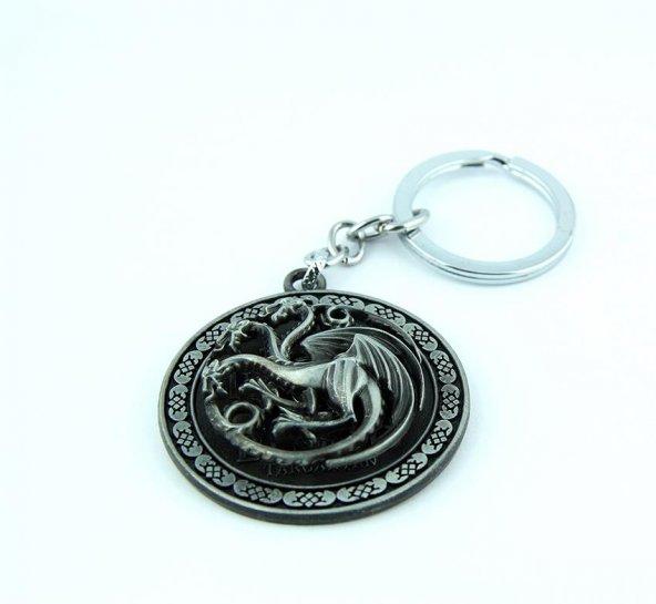 Game Of Thrones Metal Anahtarlık Hediyelik