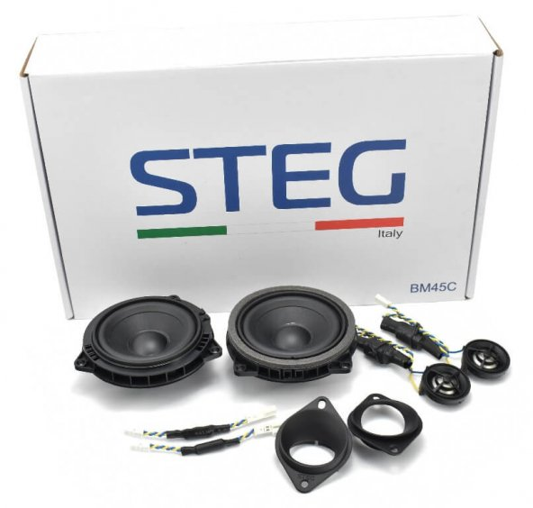 BMW Series 1-3-5-7-X1-X3 - STEG Upgrade Speaker - Model BM45C