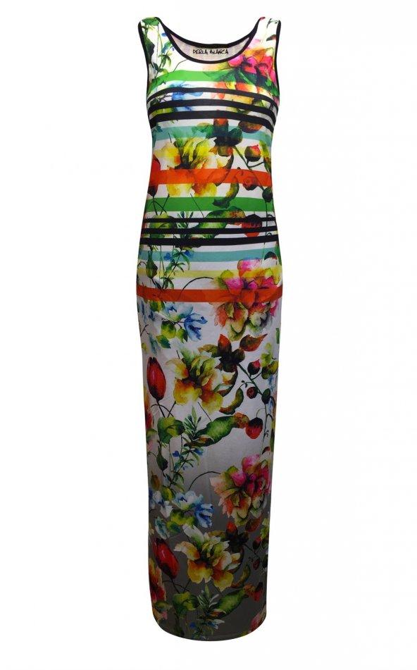 Janset Moda PB-E1009A Bayan Elbise