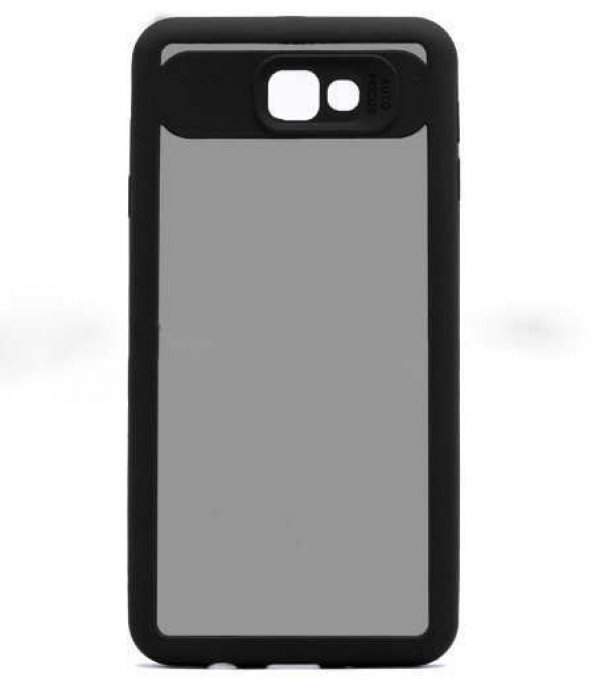 Coverzone Samsung Galaxy J5 Pro 2017 Kılıf J530 Buttom Kapak Siya