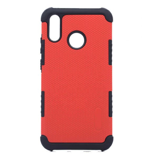 Coverzone Huawei P20 Lite Kılıf Armour Youyou Kapak Kırmızı MHM-H