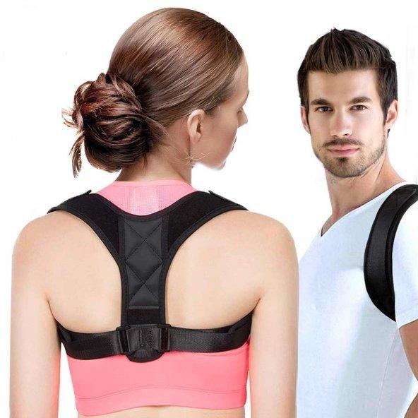 Yeni Model  Dik Duruş Aparatı Kamburluk Önleyici Posturex Dik Duruş Korsesi Bel Sırt Korsesi Yeleği