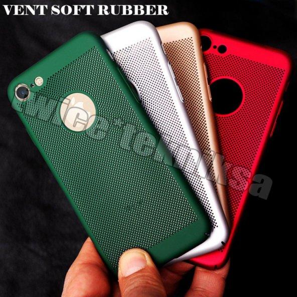 iPhone 6 Kılıf Pc Delikli Rubber Soft Mat iPhone 6 Kılıf