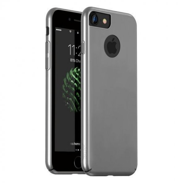 Buff iPhone 8 Kılıf Slim Fit Kılıf Gümüş