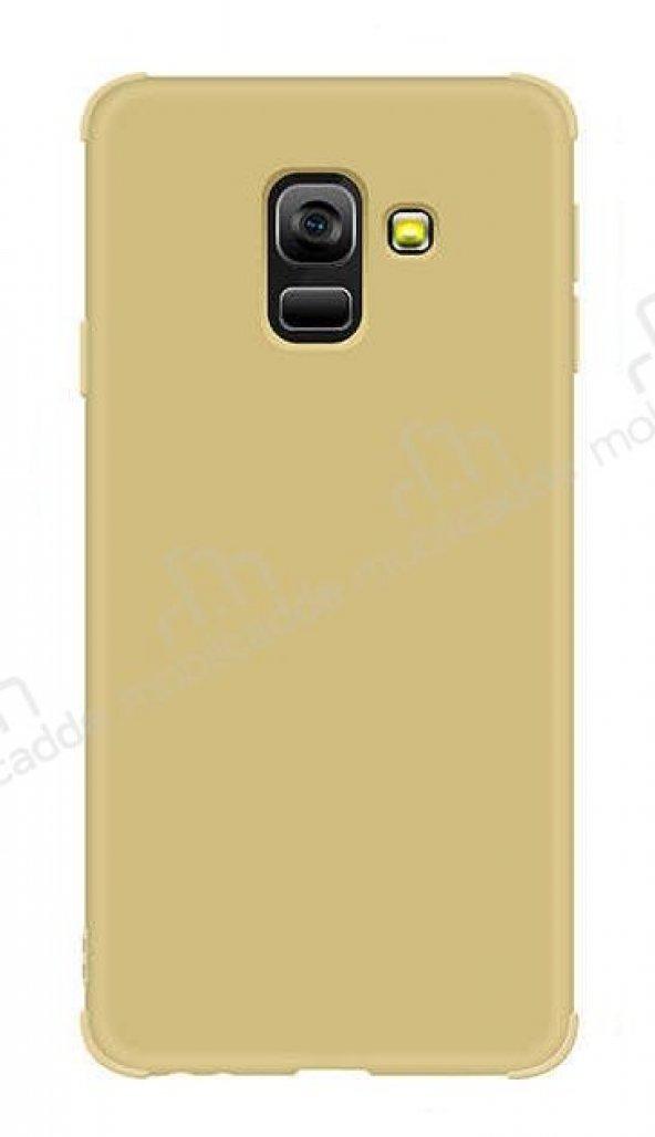 Eiroo Duro Samsung Galaxy J6 Ultra Koruma Gold Kılıf
