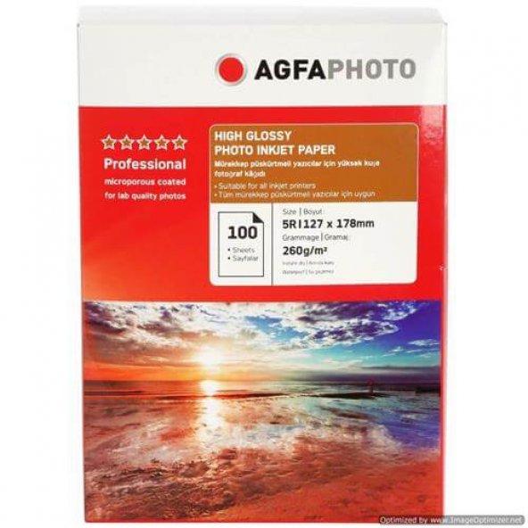 Agfa Fotoğraf Kağıdı 10x15 Inkjet Photo Paper 100 Adet Silk