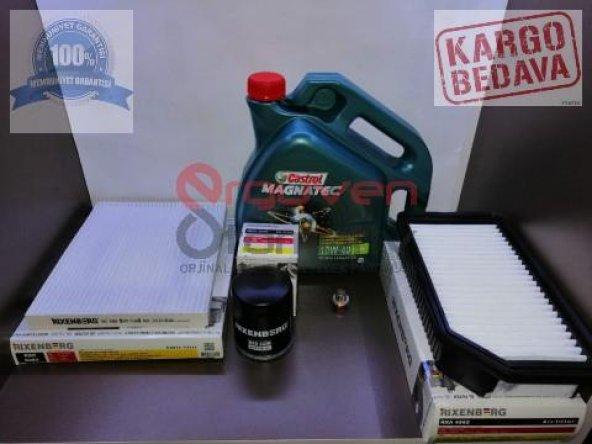 HYUNDAİ BLUE 1.4 Benzinli Filtre Bakım Seti & Motor Yağı