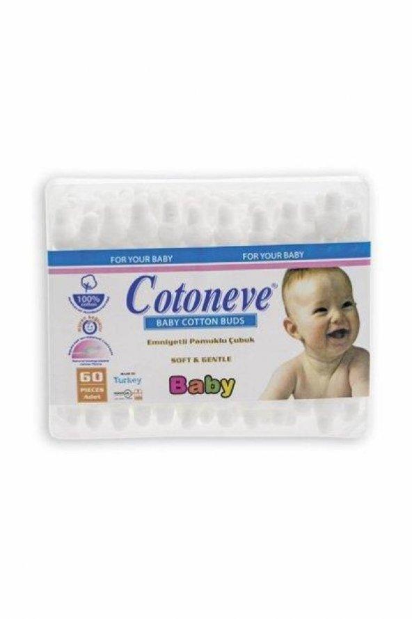 COTONEVE Bebe Kulak Çubuğu PO702 60lı