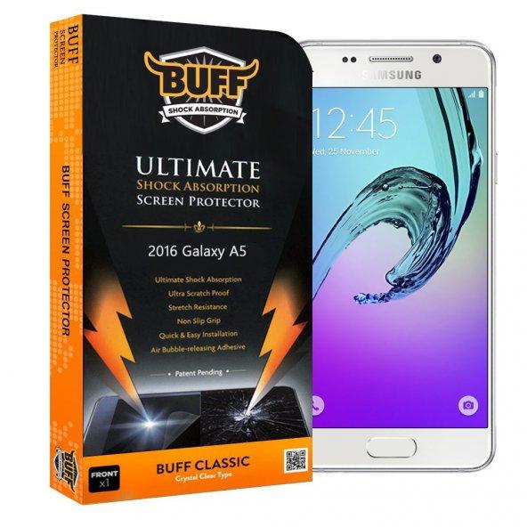 BUFF 2016 Samsung Galaxy A5 Darbe Emici Ekran Koruyucu Film