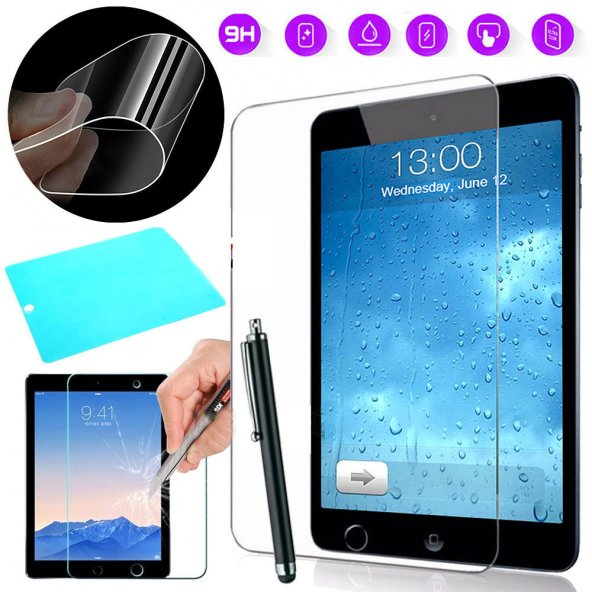 Samsung Galaxy Tab A T280 Nano Kırılmaz Flexi Ekran Koruyucu + Do