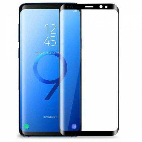 For Samsung Galaxy S9 Profesyonel Fiber Nano Ekran Koruyucu Siyah