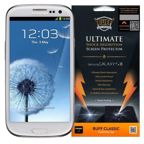BUFF Galaxy S3 Darbe Emici Ekran Koruyucu Film