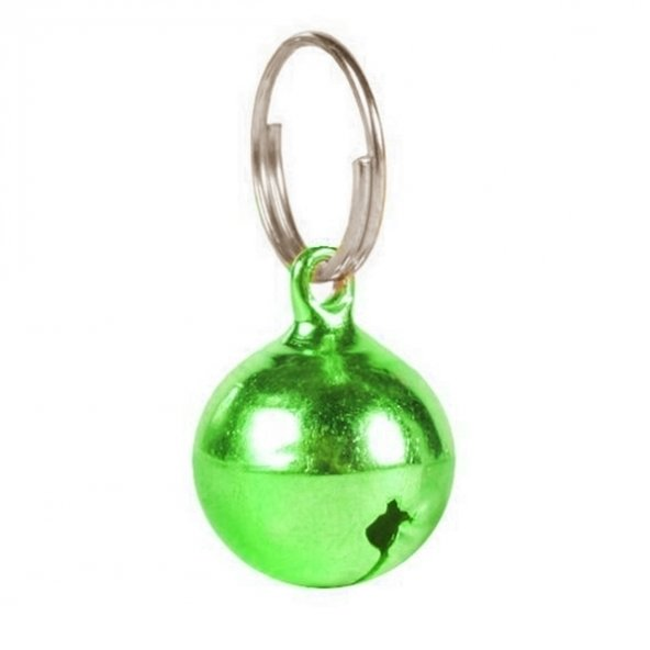 Doggie Kedi Köpek Tasma Çanı Yeşil 1,8*1,8 cm