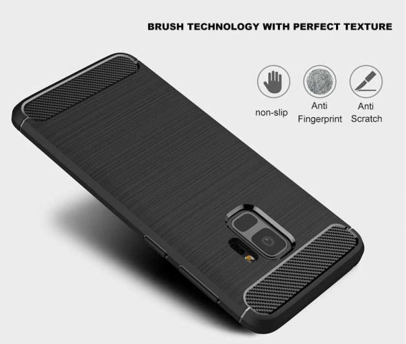 Samsung Galaxy S9 Kılıf Lopard Rush Silikon Kapak Arka Koruma