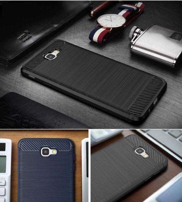 Samsung Galaxy J7 Prime Kılıf Lopard Rush Silikon Kapak Arka Koru
