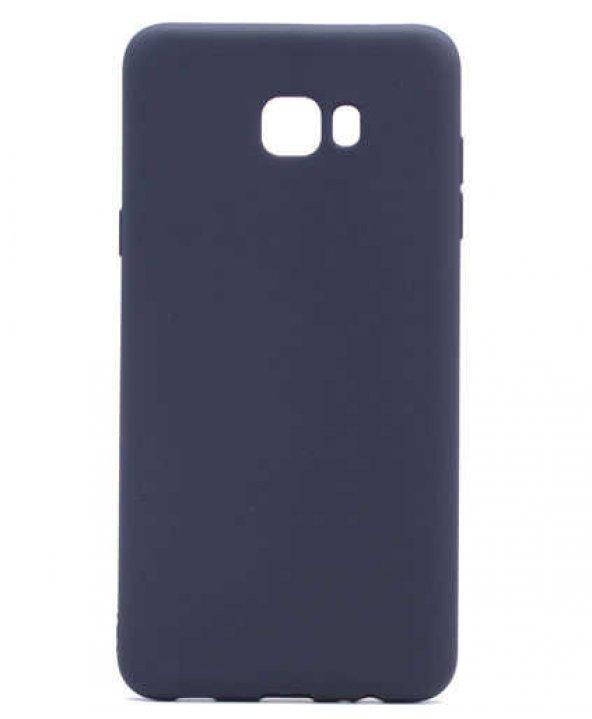 Samsung Galaxy C7 Pro Kılıf Lopard Premier Silikon Arka Kapak