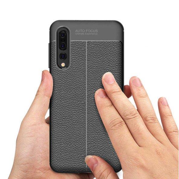 Huawei P20 Pro Kılıf Lopard Nish Silikon Kapak Arka Koruma