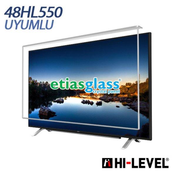 ETİASGLASS Hİ-LEVEL 48HL550 UYUMLU TV EKRAN KORUYUCU
