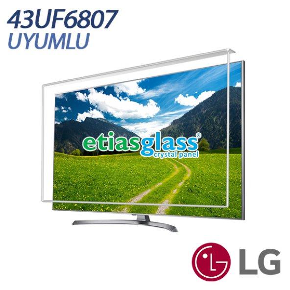 ETİASGLASS LG 43UF6807 UYUMLU TV EKRAN KORUYUCU