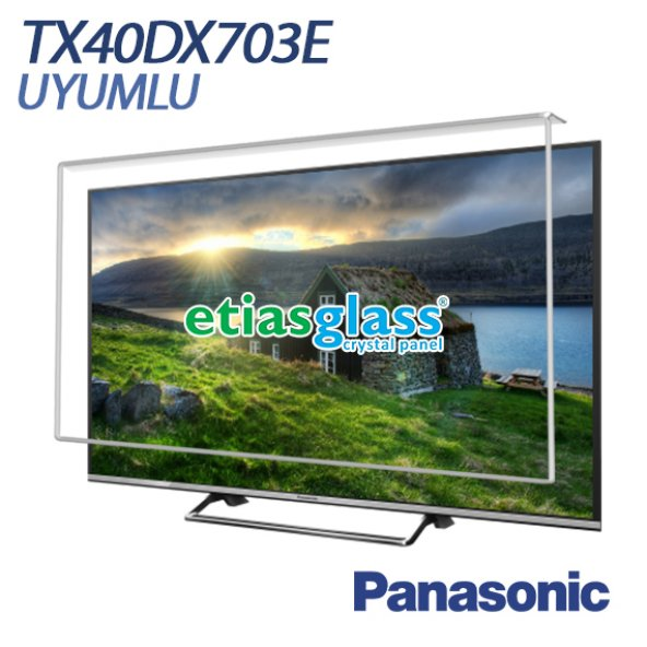 ETİASGLASS PANASONIC TX40DX703E UYUMLU TV EKRAN KORUYUCU