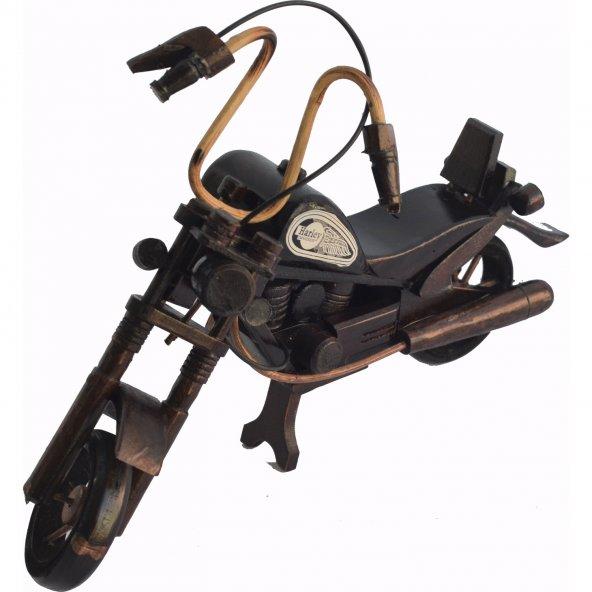 Motorsiklet Ahşap 40x30x7cm