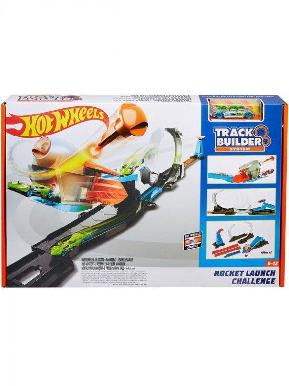 Hot Wheels Track Builder Roket Fırlatma Aksiyon Yarış Seti Matt