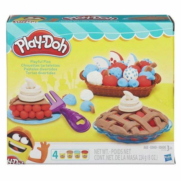 Playdoh Yaratıcı Mutfağım Turta Eğlencesi Hasbro Lisanslı