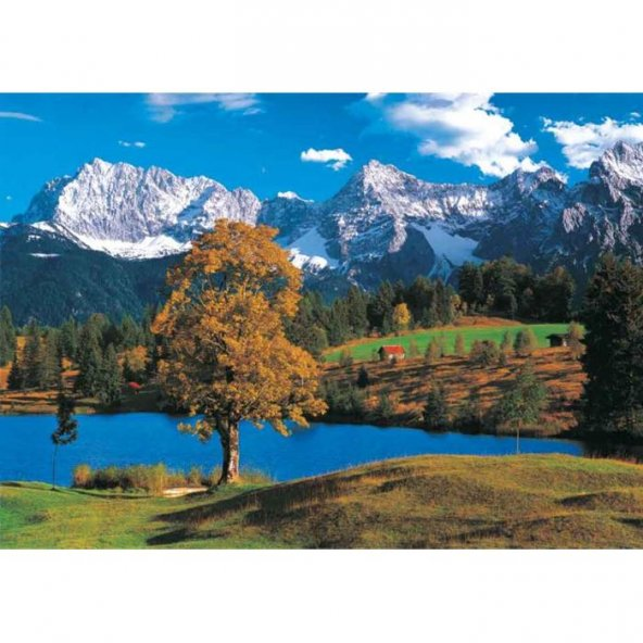 Puzzle 2000 Parça Bavarian Alps KS