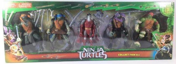 Ninja Turtles 5'Li İşıklı Figür Kutulu - 09249