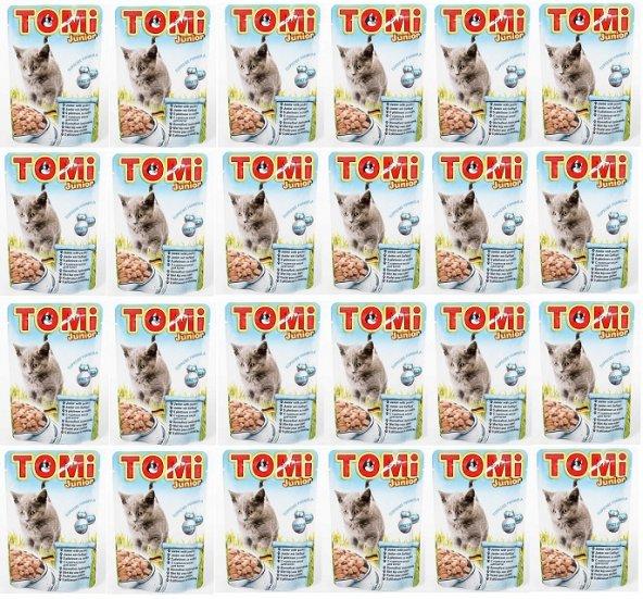 Tomi Yavru Kediler İçin Pouch Yaş Mama 100 Gr x 24 Adet