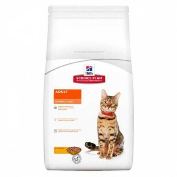 Hills Adult Optimal Care Tavuklu Yetişkin Kedi Maması 5 Kg