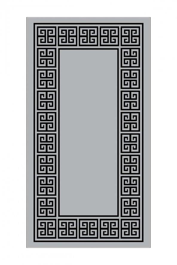 PASSİON SN-009 100X160CM GRİ KAYDIRMAZ HALI