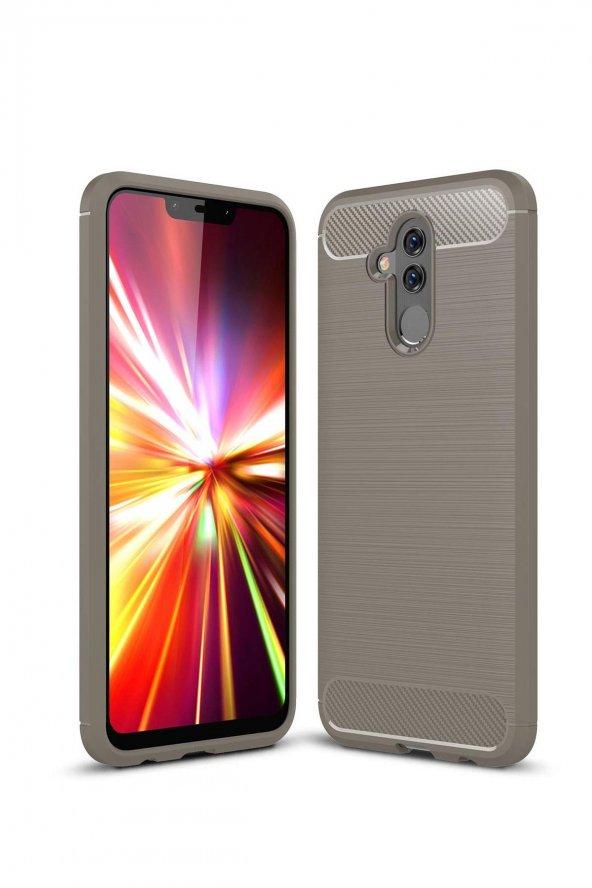 Huawei Mate 20 Lite Kılıf Silikon Gri