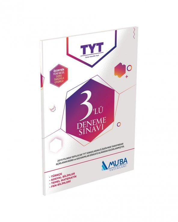 Muba Yayınları TYT 3lü Deneme Sınavı